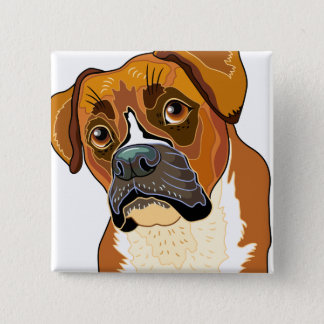 Baron the Boxer Button