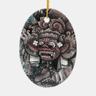 Barong and Rangda Bali Christmas Ornaments