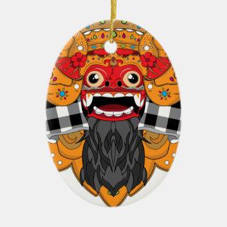 Barong Bali Ceramic Ornament