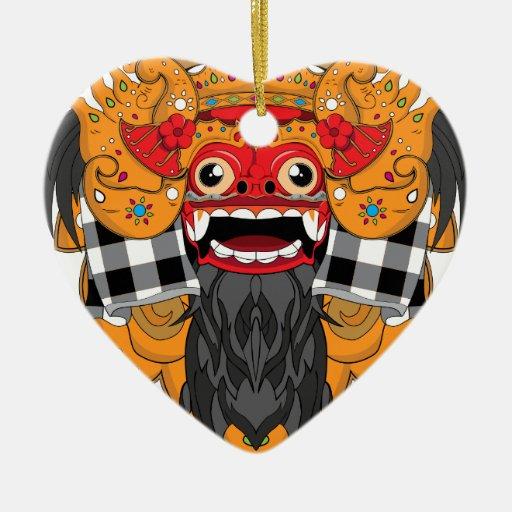 Barong Bali Ornament