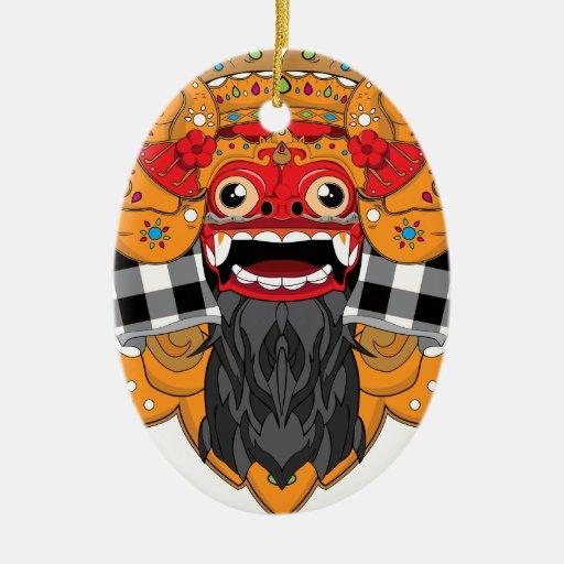 Barong Bali Christmas Ornaments
