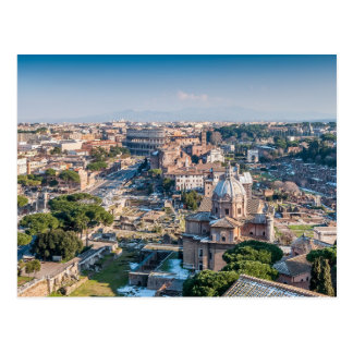 Baroque & Ancient Rome Postcard