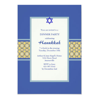 Baroque Band Hanukkah Invitation