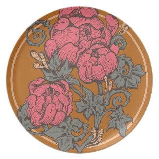 Baroque Bouquet Plate