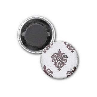 Baroque ~ Button 3 Cm Round Magnet