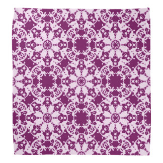 baroque floral pattern bandana