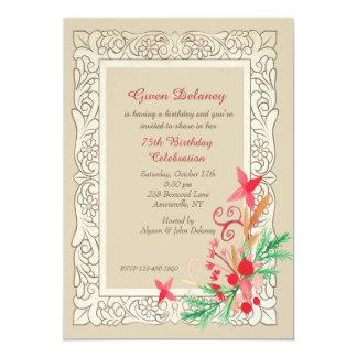 Baroque Frame Invitation