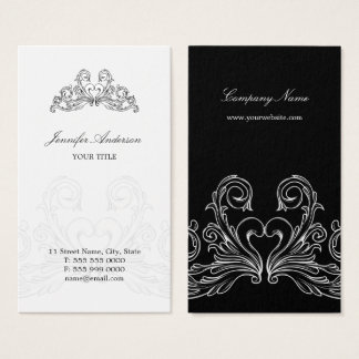 Baroque French Chic Business Card