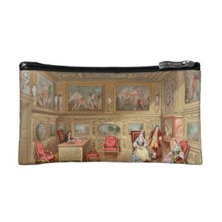 Baroque French Interior Design Murals Aristocratic Cosmetic Bag