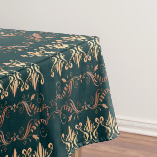 baroque golden pattern tablecloth