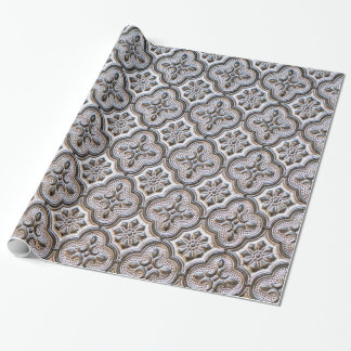 baroque gothic wrapping paper
