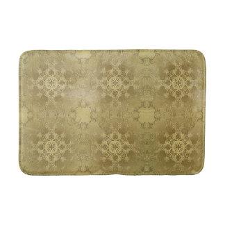 baroque grunge texture bath mat
