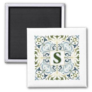 Baroque Letter S Magnets