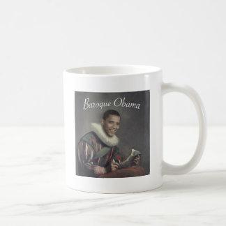 Baroque Obama Basic White Mug