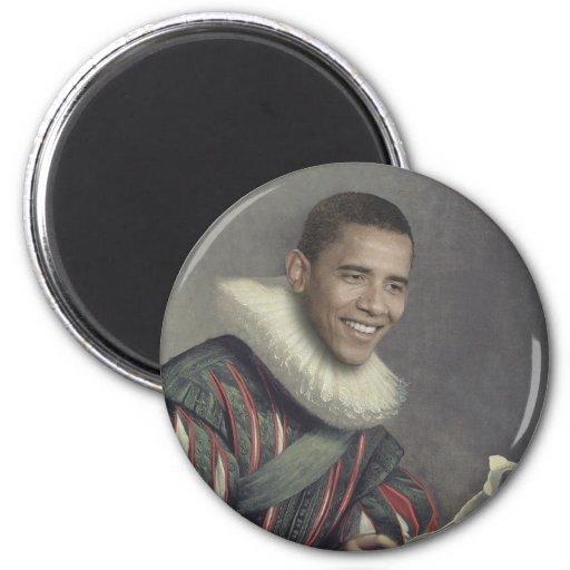 Baroque Obama Magnets