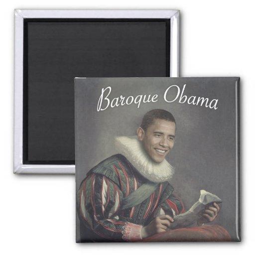 Baroque Obama Refrigerator Magnets