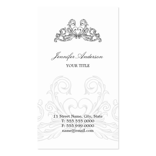 Baroque Ornaments business card