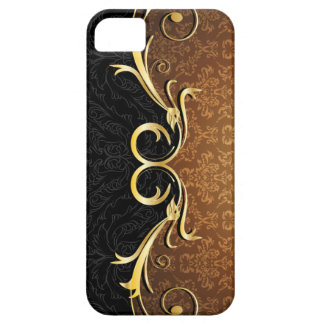 Baroque Scrolls and Damask Barely There iPhone 5 Case