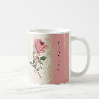 Baroque Style Vintage Rose Lace Mugs