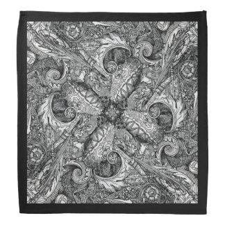 Baroque swirls bandana