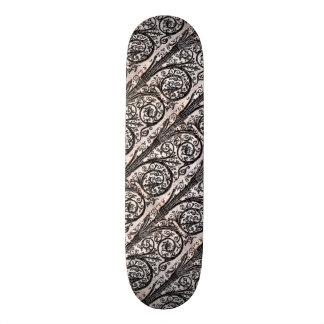 Baroque Vintage Architectural Decorative Ironwork Skate Boards