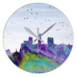 Barquisimeto Skyline Large Clock