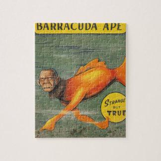 Barracuda Ape Jigsaw Puzzle