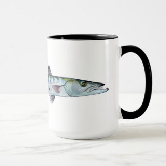 Barracuda fish mug