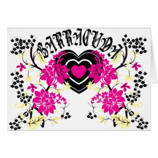 Barracuda Heart Card