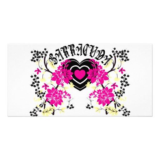 Barracuda Heart Photo Card