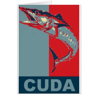 Barracuda Icondized Greeting Cards