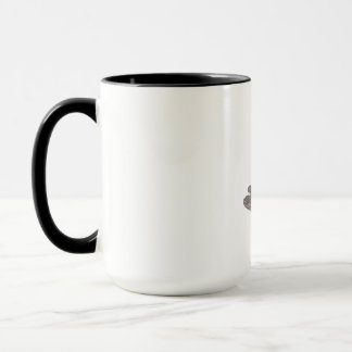 Barracuda Swimming Down Drawing Mug