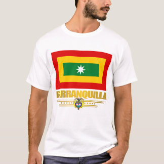 Barranquilla Flag Apparel T-Shirt