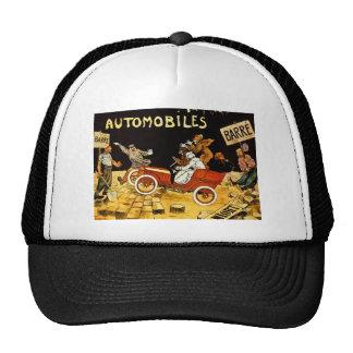Barre Automobiles - Vintage Advertisement Poster Mesh Hats