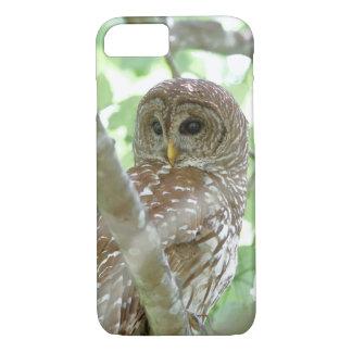 Barred Owl Apple iPhone 7 Case
