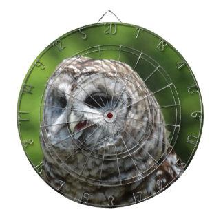 Barred Owl Dart Boards