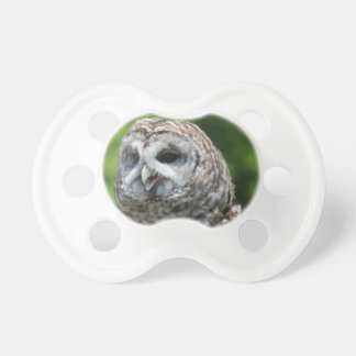Barred Owl Baby Pacifier