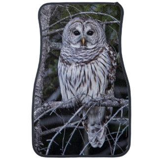 Barred Owl Floor Mat
