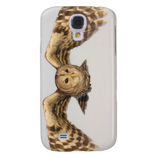 Barred Owl in Flight Galaxy S4 Covers