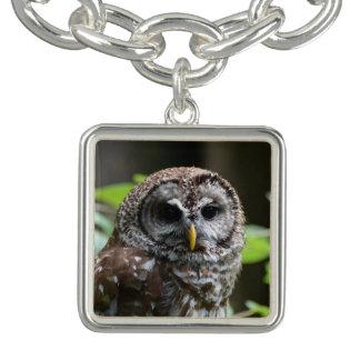 Barred Owl Bracelets