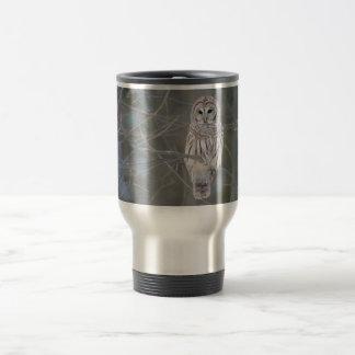 Barred Owl Strix Varia Travel Mug