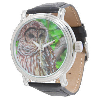Barred Owl Watches - many styles