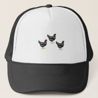 Barred Plymouth Rock Heritage Breed Laying Hens Trucker Hat