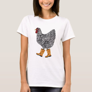 Barred Rock with Sloggers Products T-Shirt