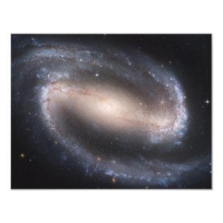 Barred Spiral Galaxy 11 Cm X 14 Cm Invitation Card