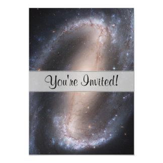 Barred Spiral Galaxy 13 Cm X 18 Cm Invitation Card