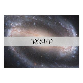 Barred Spiral Galaxy 9 Cm X 13 Cm Invitation Card