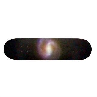 Barred Spiral Galaxy COSMOS 21.3 Cm Mini Skateboard Deck