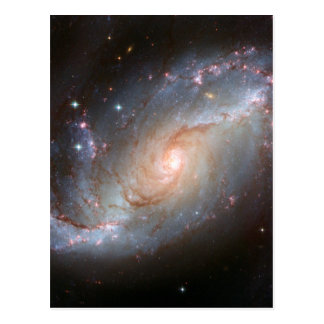 Barred spiral galaxy, NGC 1672 Postcard