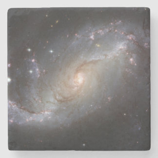 Barred Spiral Galaxy NGC 1672 Stone Coaster
